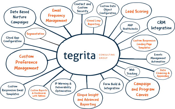 Tegrita Capabilities: Marketing Automation Consulting and Implementations