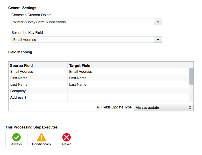 Creating Custom Objects to Track Form Submissions in Eloqua