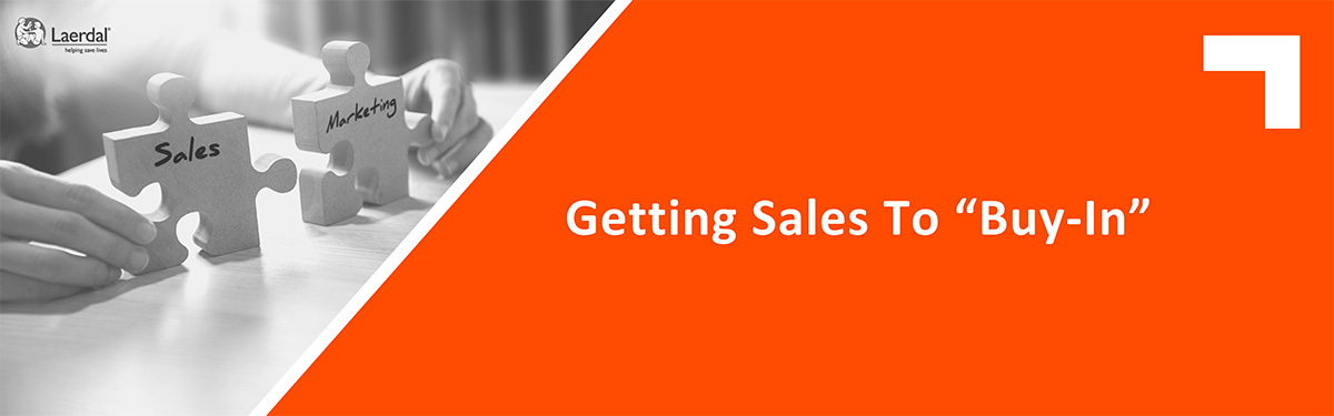 """Getting Sales To """"Buy-In"""""""