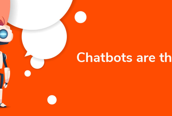 Chatbots are the new forms